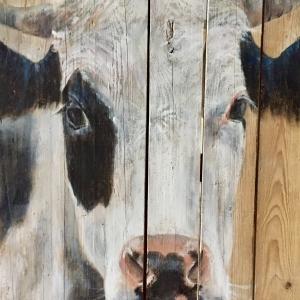 Ella 50x75 cm Acryl auf Schaltafel