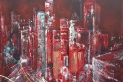 Skyscraper red