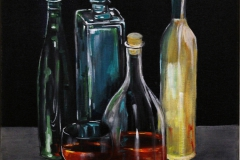 Stillleben Flaschen