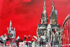 Köln Dom 50 x 50 cm