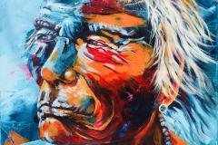 Dakota Indianer 70x90 cm VERKAUFT