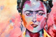 Frida Kahlo 70x70 cm