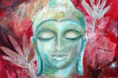 aAsien_Buddha_Collage_80x80 cm