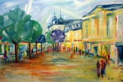 aStädteSkylines_Brühler Markt I_90 x 70 cm